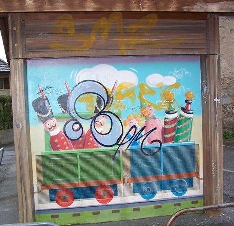 Traitement anti graffiti permanent